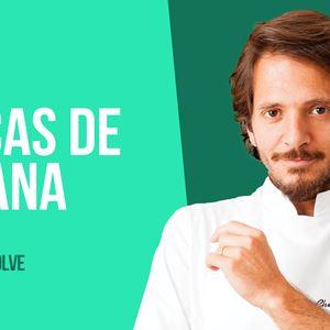 O CHEF KIKO RESOLVE - CASCAS DE BANANA - 16 de OUTUBRO 2020