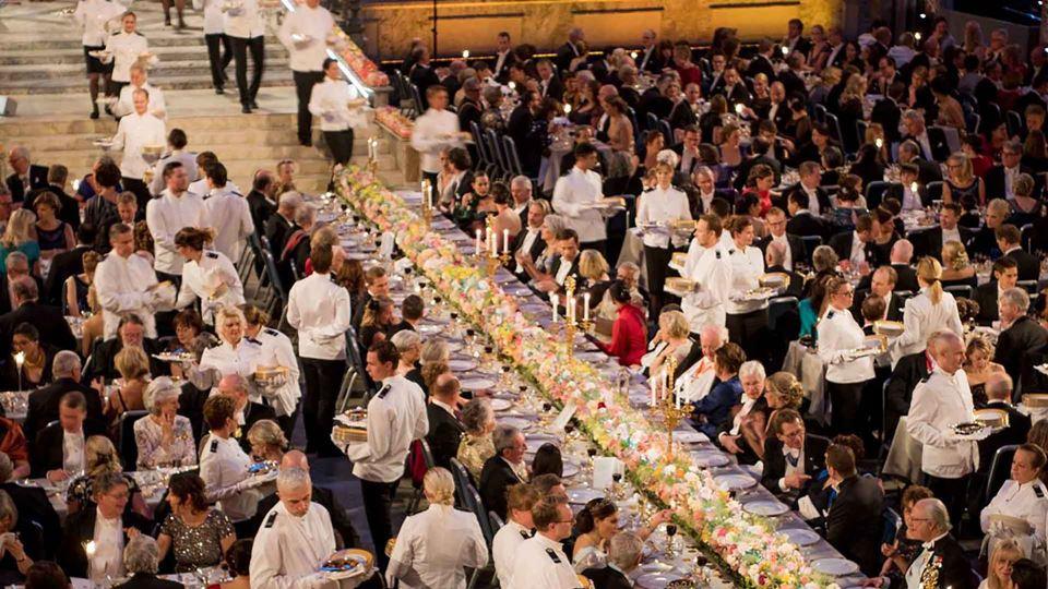 Banquete da cerimónia do Prémio Nobel