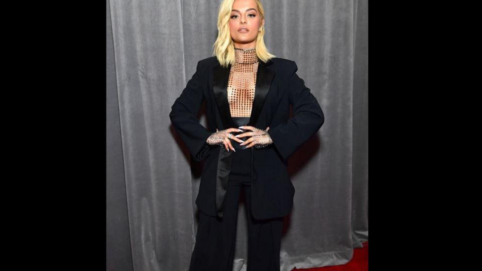 Bebe Rexha nos Grammy 2020