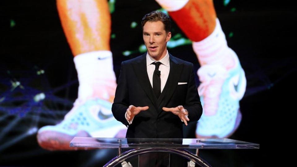Cumberbatch volta a apresentar...