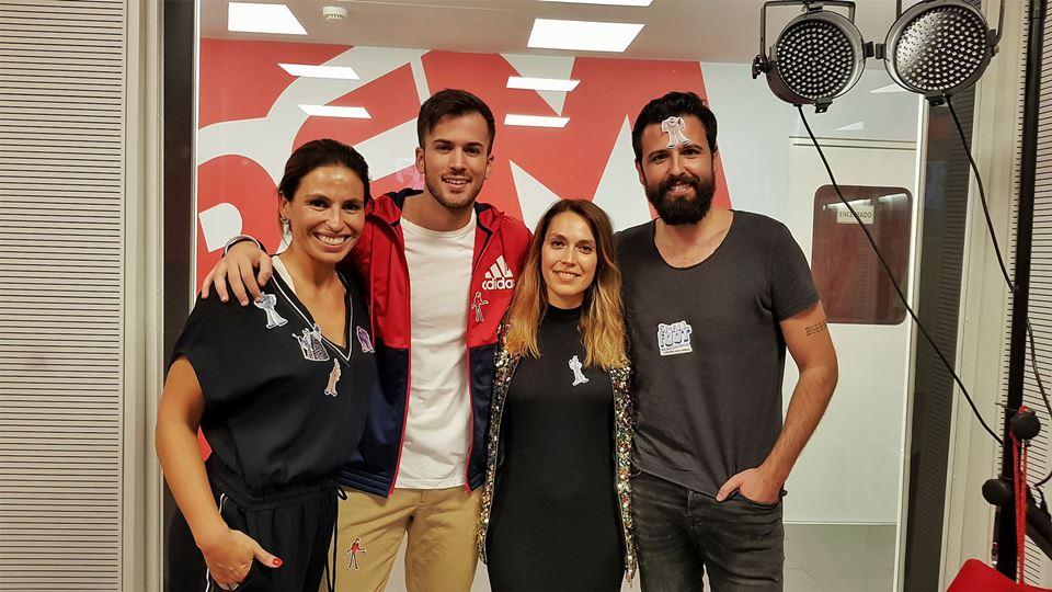 BFF - Ana Bacalhau e David Carreira - as vozes de Smallfoot