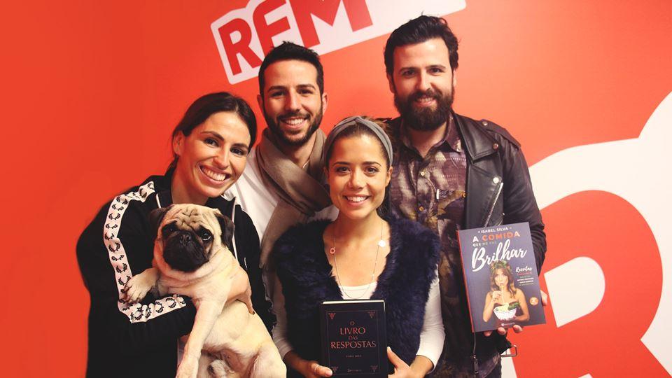 BFF Isabel Silva, Ruben Correia e Cáju