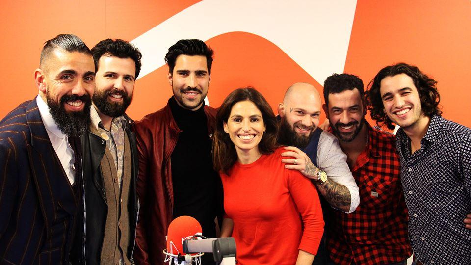 BFF Moodernists: Paulo Battista, Bruno Queirós, Unique, Pedro Correia e Luís Marvão