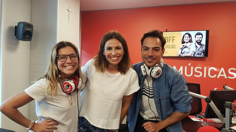 BFF Tiago Aldeia e Joana Solnado
