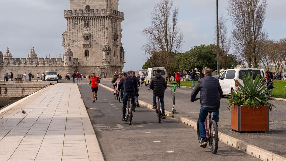 Bicicletas em Belém