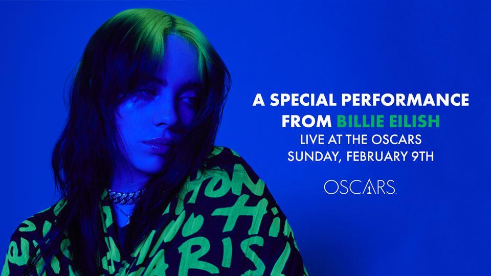 Billie Eilish nos Óscares