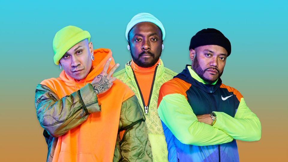Black Eyed Peas dia 20 de Junho no Rock in Rio Lisboa 2020
