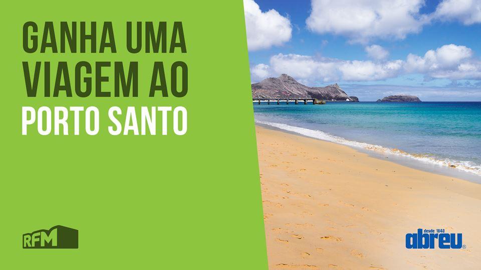 Ganha uma viagem a Porto Santo