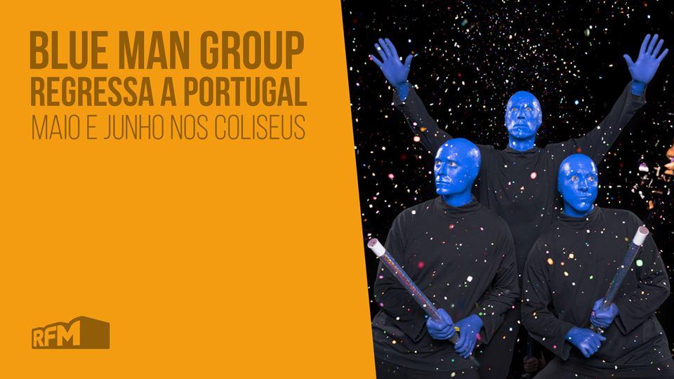 Blue Man Group 2019