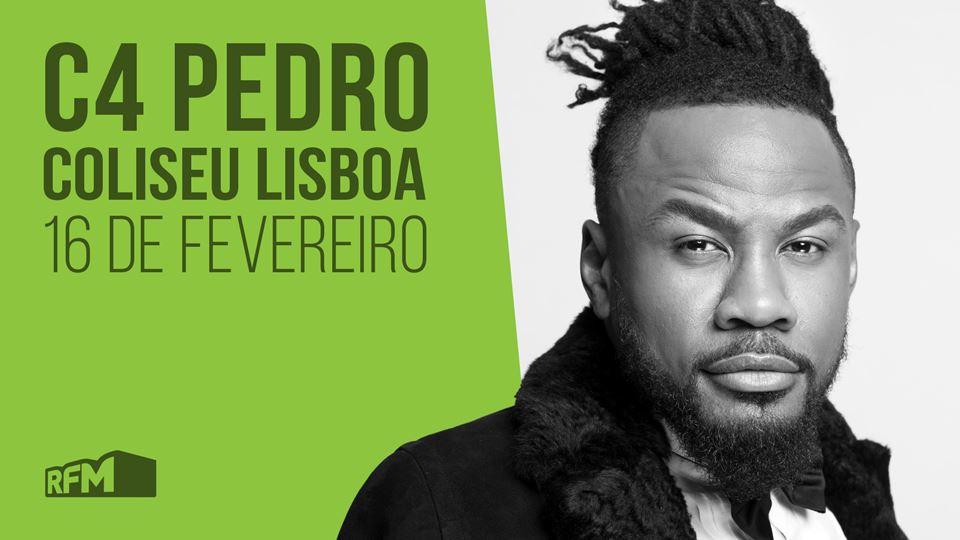 C4 Pedro no Coliseu de Lisboa