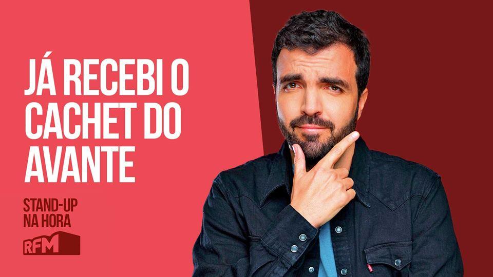 Salvador Martinha: Já recebi o...