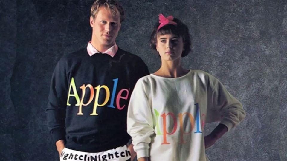 Apple lançou linha de roupa