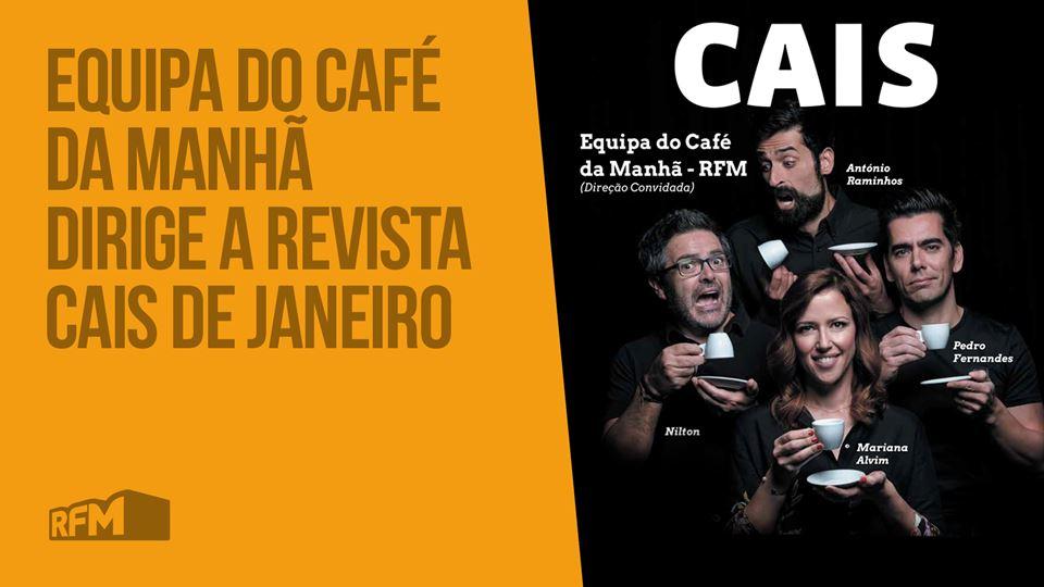 Café da Manhã na Revista Cais
