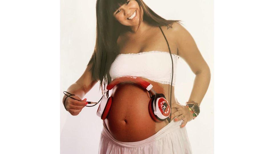 Carolina Camargo grávida do primeiro filho