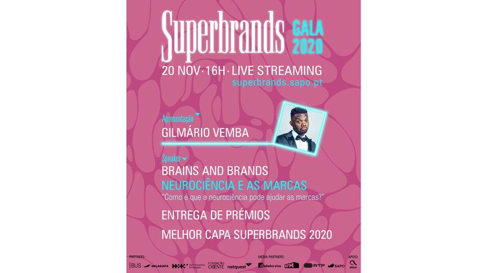 Cartaz da gala Superbrands
