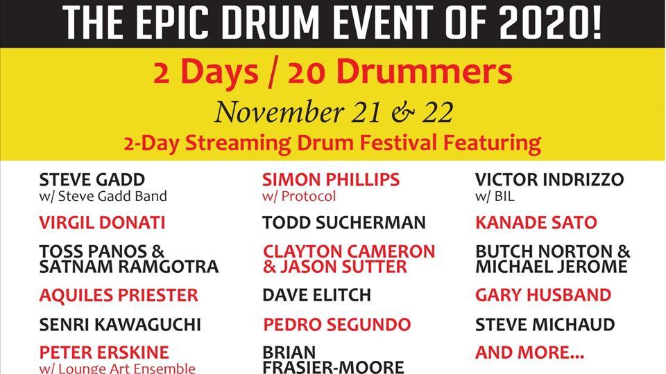 Cartaz Drumhead Live