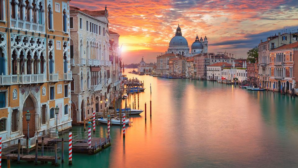 Canais de Veneza, Itália