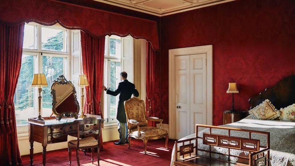 Queres dormir em Downton Abbey...