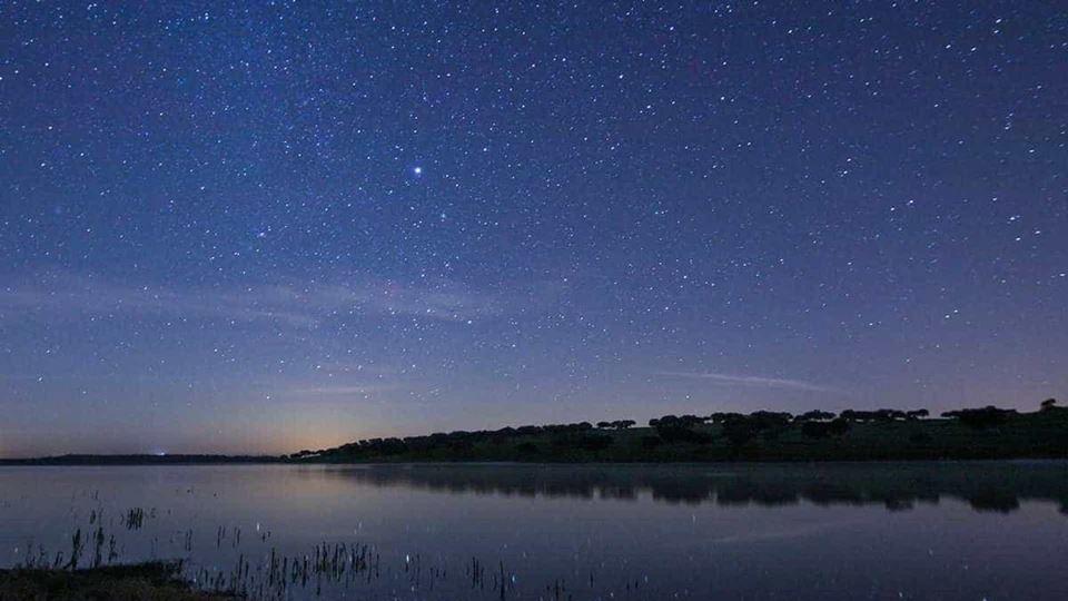 céu estrelado alqueva
