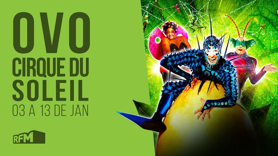 Cirque du Soleil apresenta OVO...