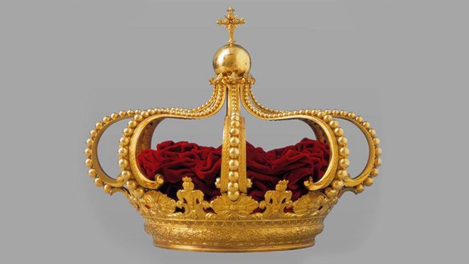 Onde está afinal a coroa de Po...