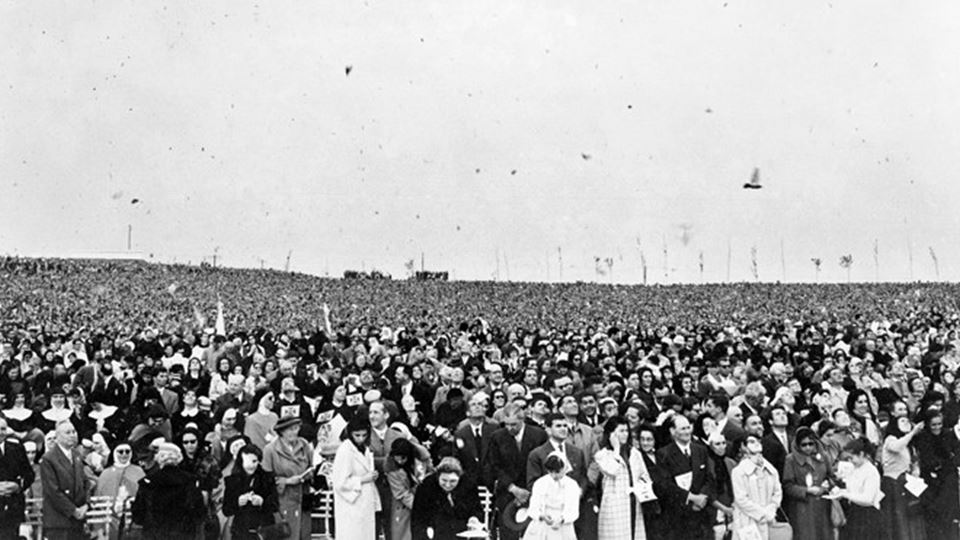 CR inauguração Multidão