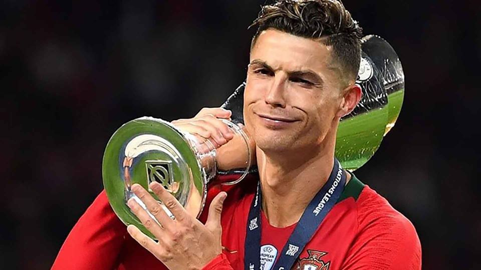 Cristiano Ronaldo marcou prese...