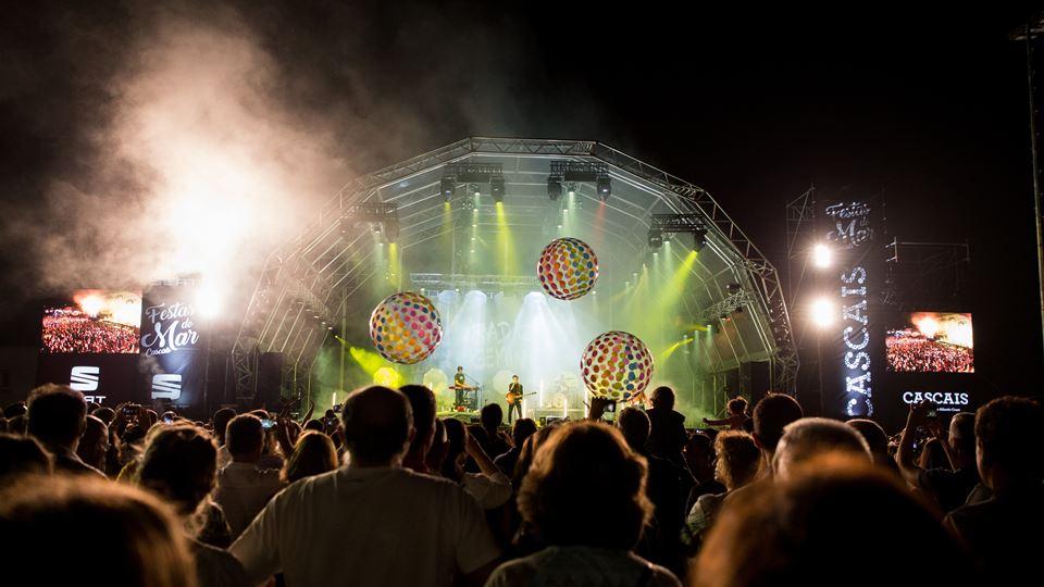 O palco das Festas do Mar em Cascais