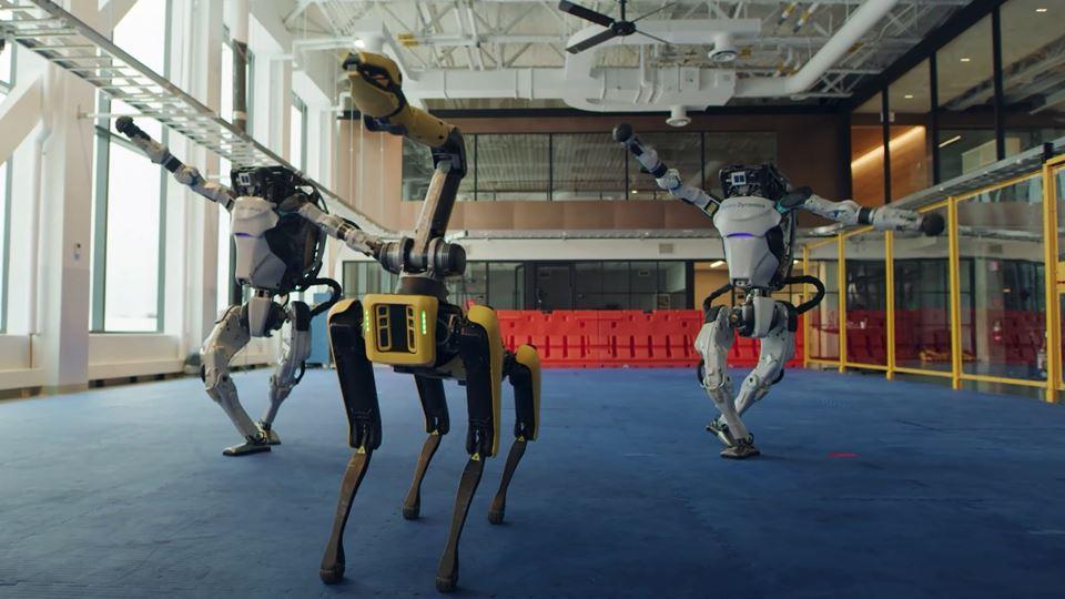 Robots despedem-se de 2020 com...