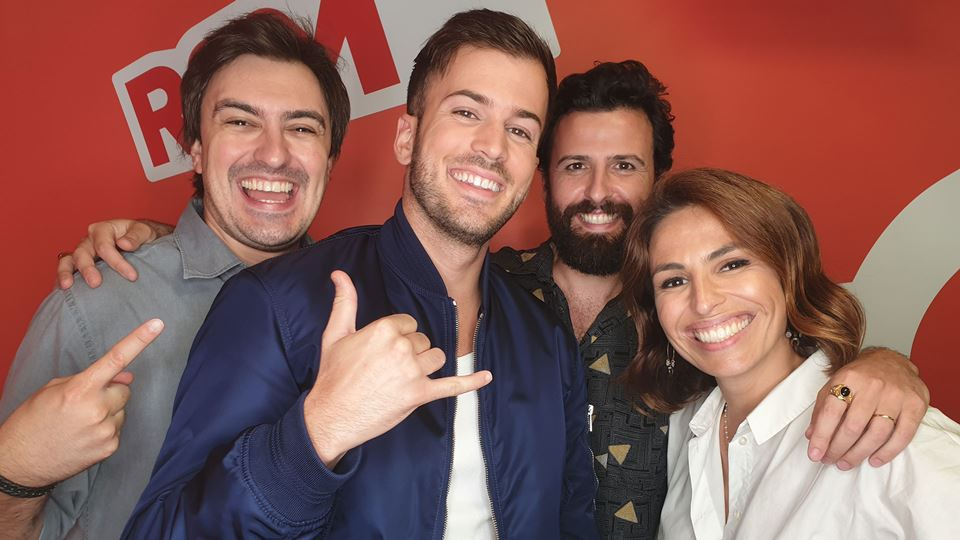 David Carreira no Wi-fi da RFM