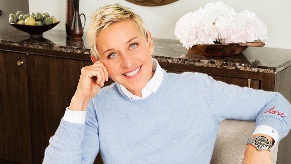 De quarentena, Ellen Degeneres...