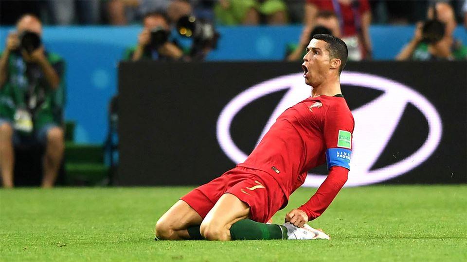 O Hat trick de Cristiano Ronaldo