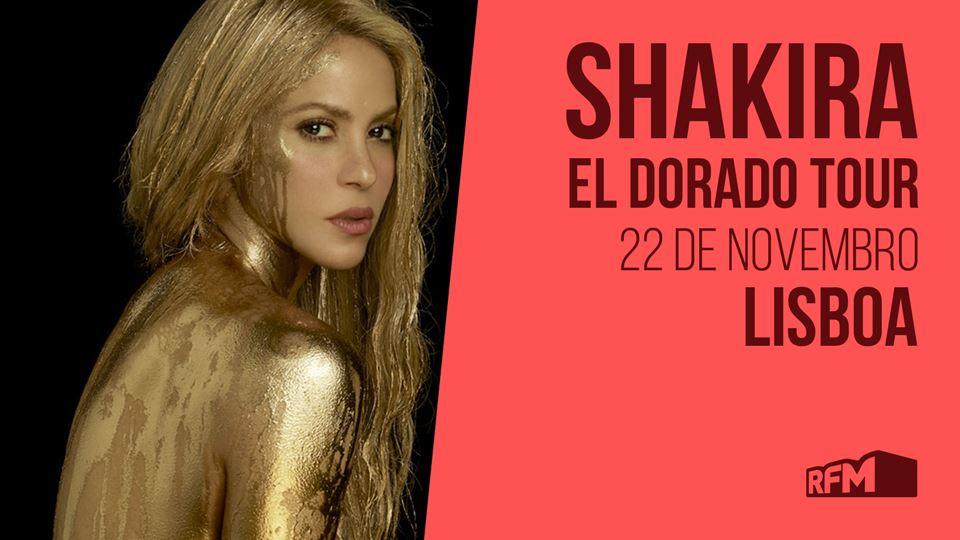 Shakira em Lisboa com a RFM