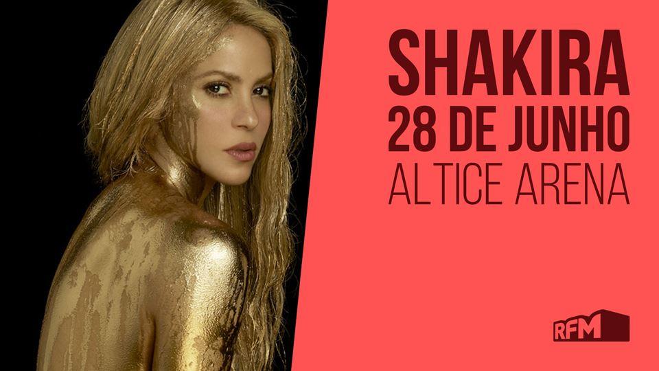 Shakira marca novo concerto em...