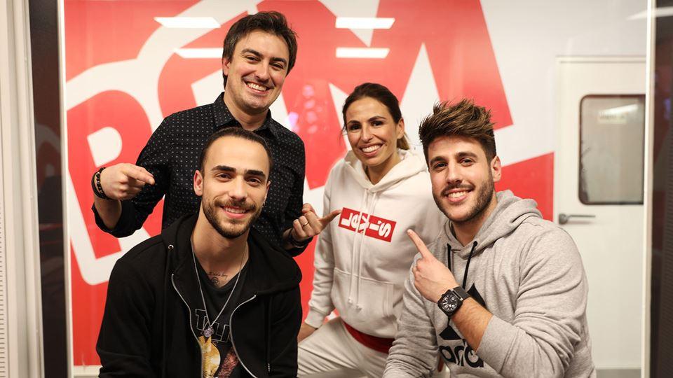 Diogo Piçarra e António José no Wi-fi da RFM