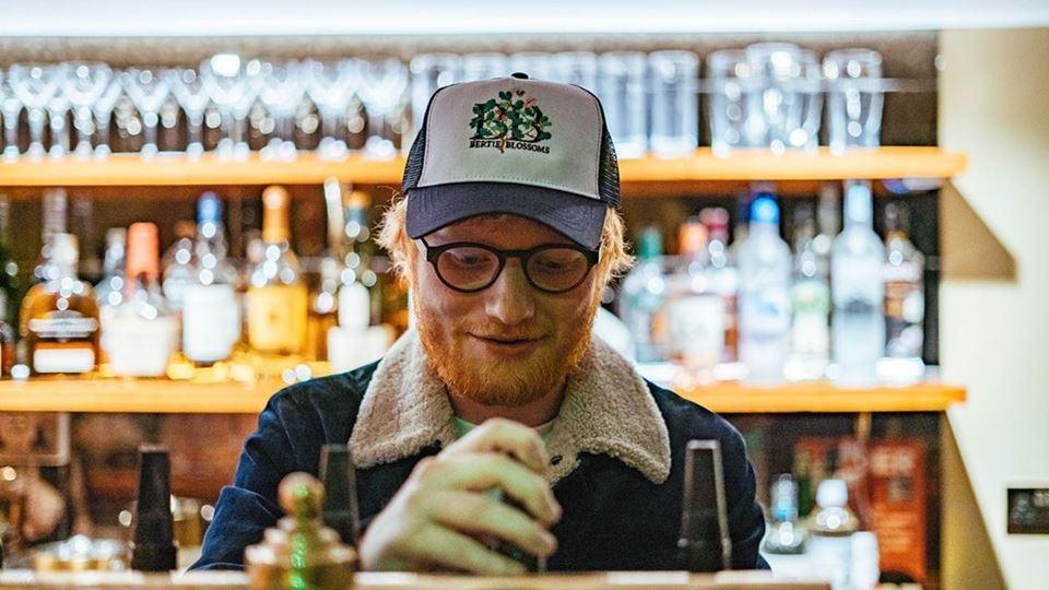 Ed Sheeran é um boss fixe