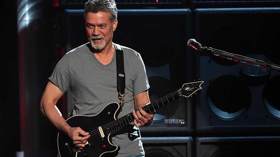 Morreu o guitarrista Eddie van...