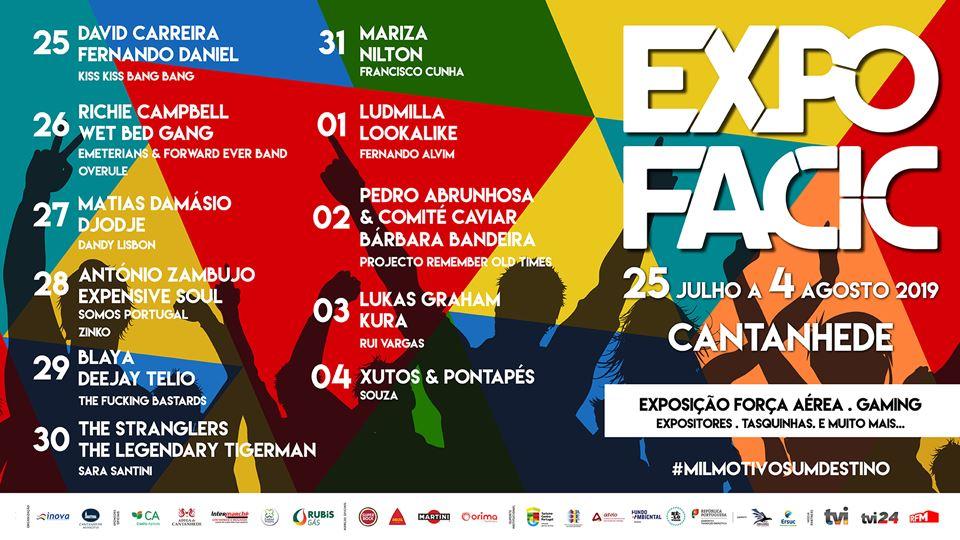 Cartaz da Expofacic 2019