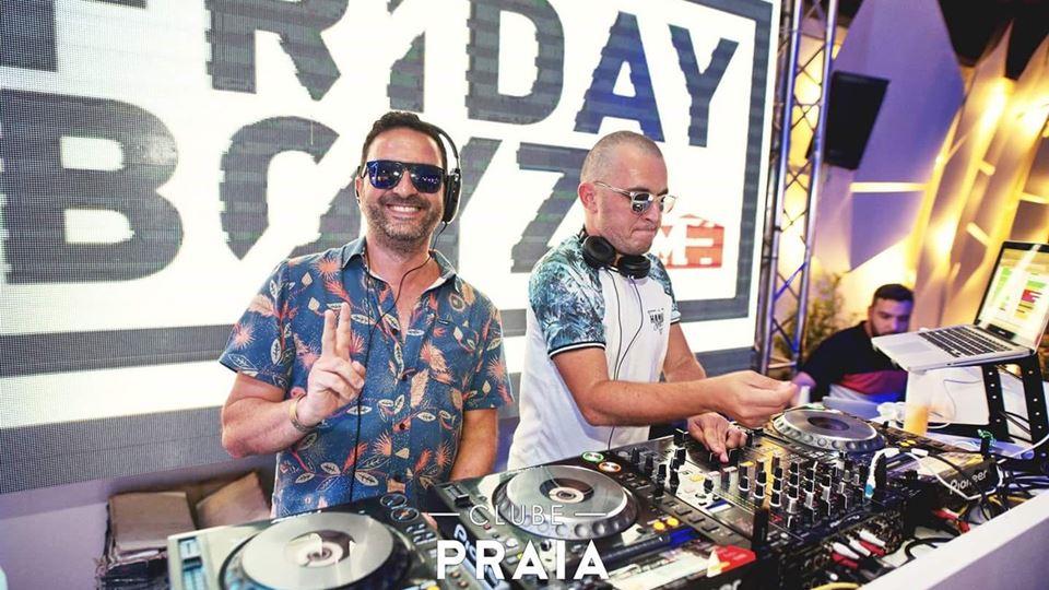 A dupla de Fridayboyz no Clube da Praia Verde