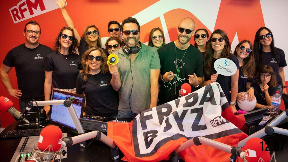 DJ Christian F e Clinifísio nos Fridayboyz