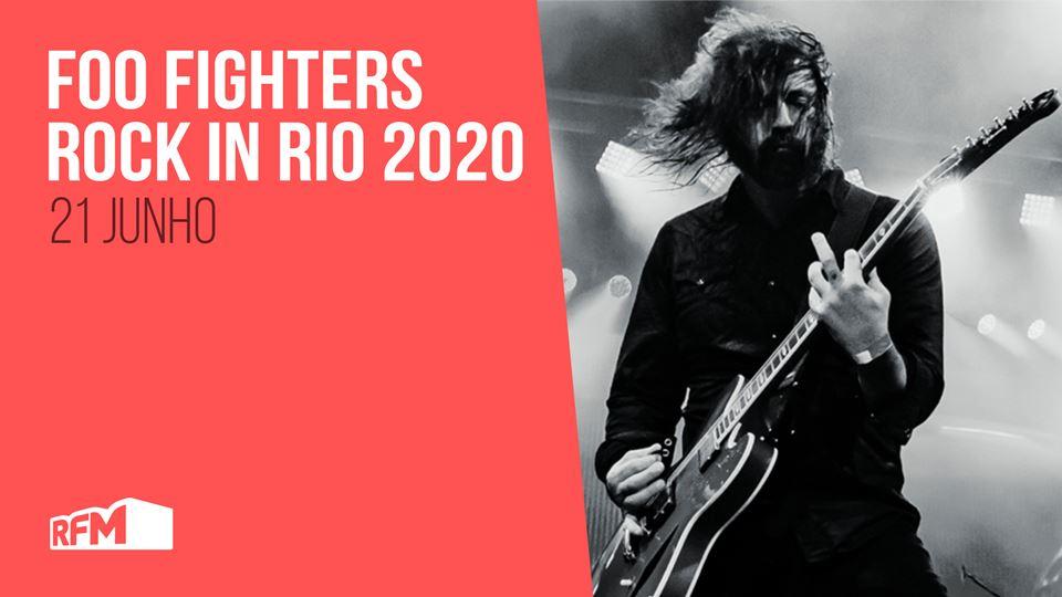Rock in RIo 2020 Foo Fighters
