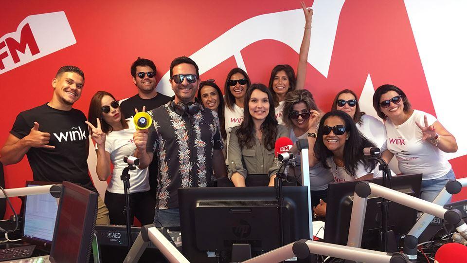 Fridayboyz featuring Dj Joana Perez com equipa Wink