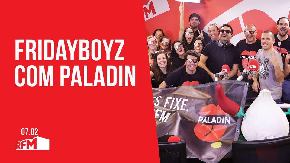 FRIDAYBOYZ feat Paladin
