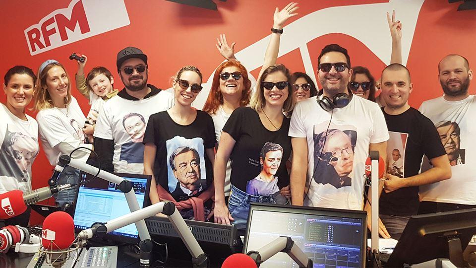 A empresa de t-shirt Thidols com os Fridayboyz