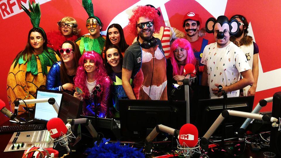 Foliões de Torres Vedras no Carnaval dos Fridayboyz