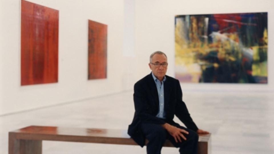 Gerhard Richter anos 90 - foto site oficial do pintor