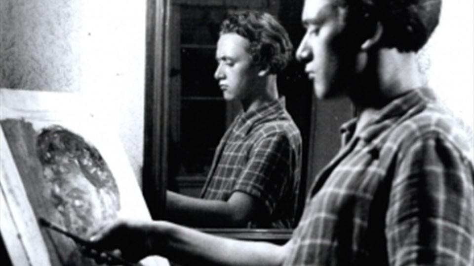 Gerhard Richter nos anos 60 - foto site oficial do pintor