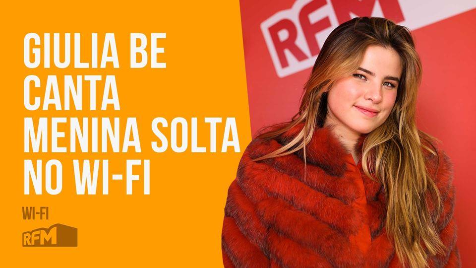 Giulia B canta Menina Solta no...