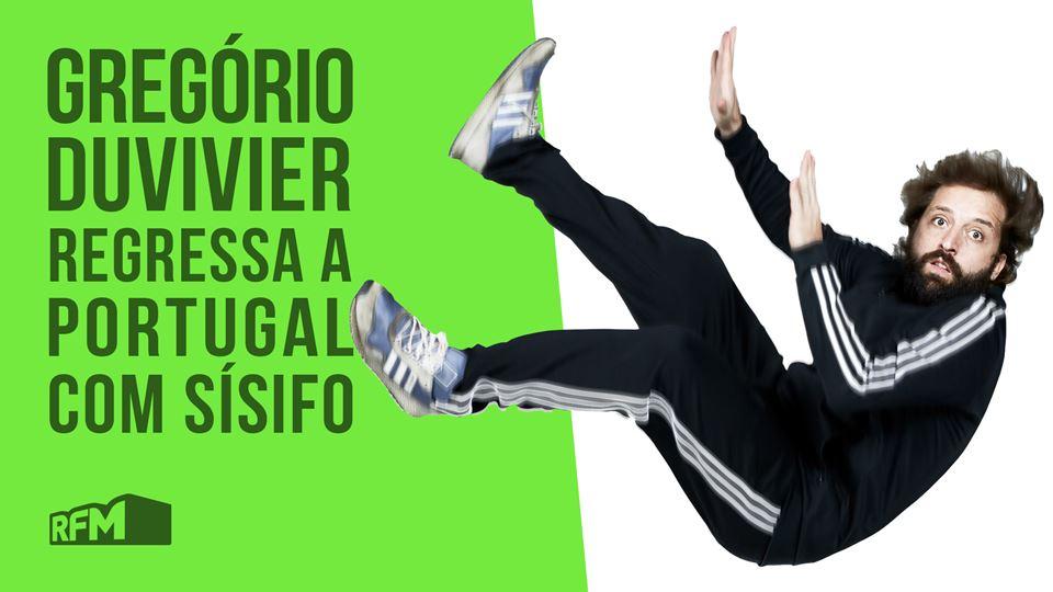 Gregorio Duvivier em Portugal ...