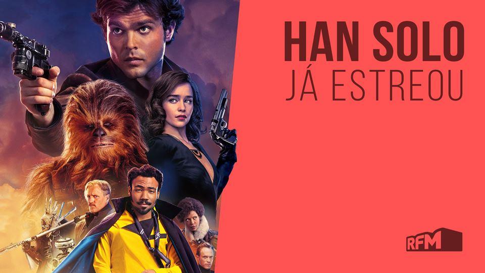 Han Solo estreia 24 de maio